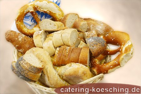 Brotkorb gemischt (Brotzeit)